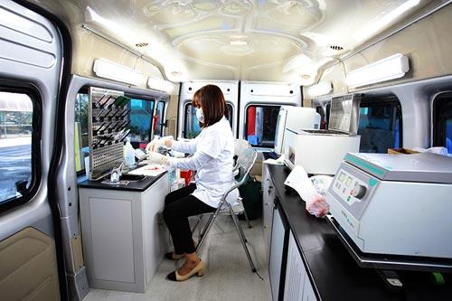xe kiểm nghiệm an toàn thực phẩm